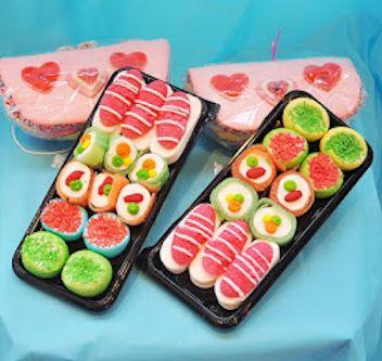 Sushi chuches flores dalia - Bandejas para sushi ...