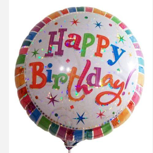 globos feliz cumpleaños grande con helio