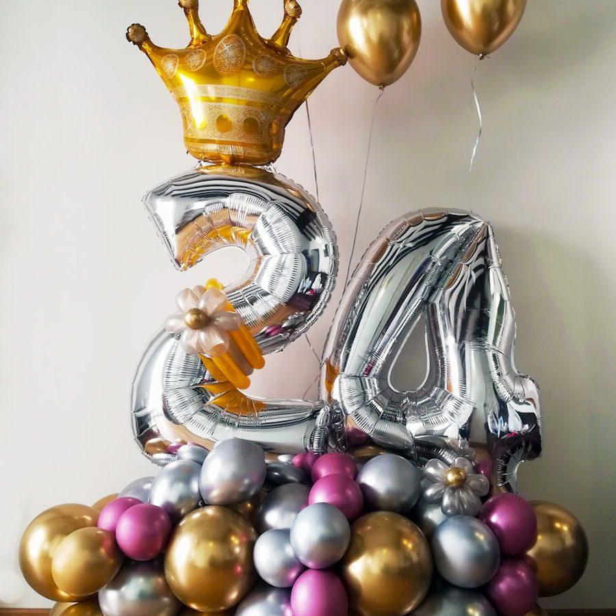 Globos cumpleaños chico
