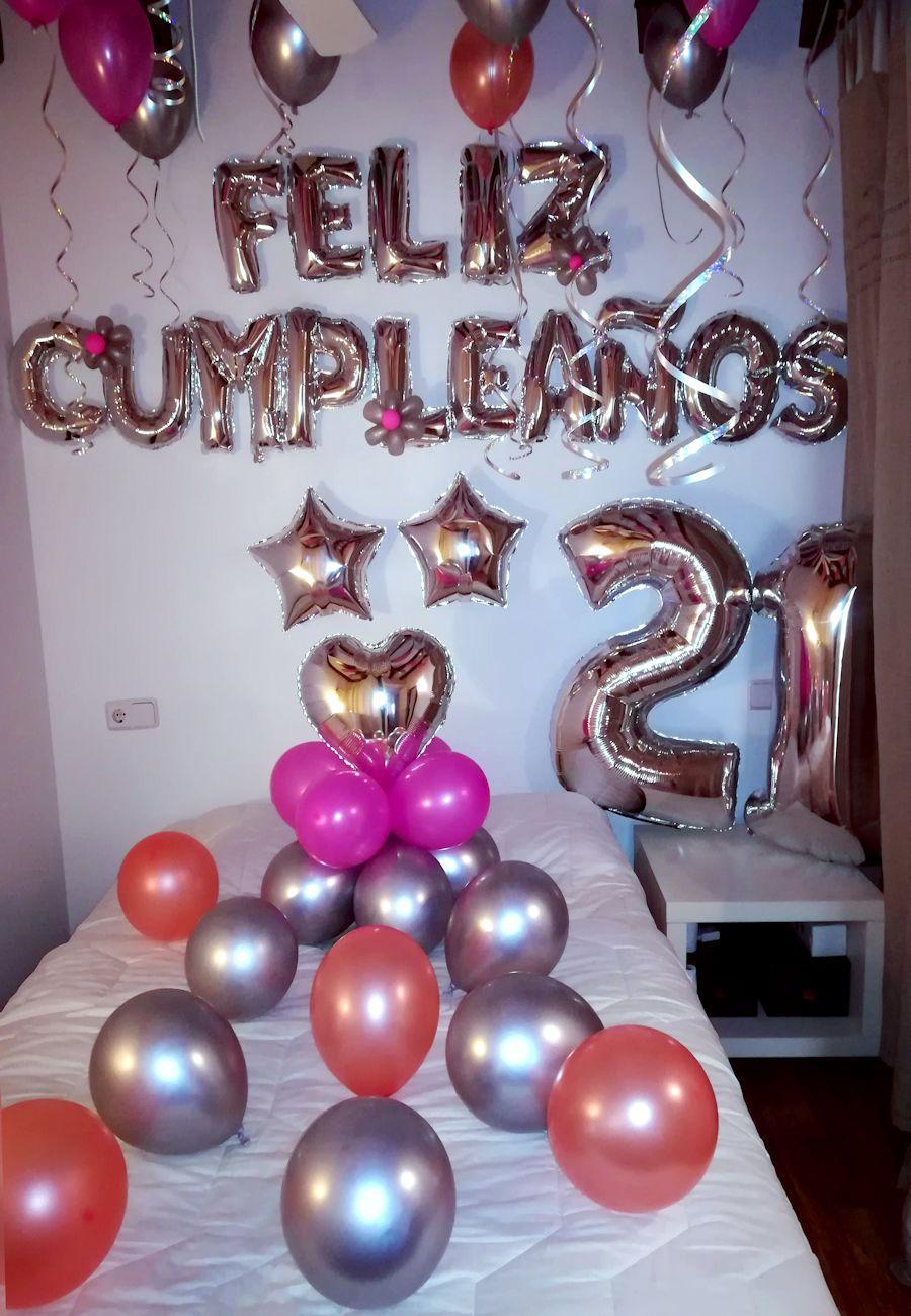 Decoración habitación cumpleaños