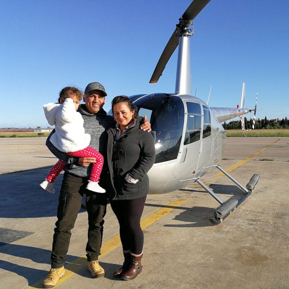 Volar en familia