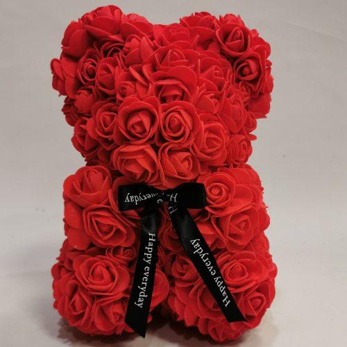 Oso rosas rojas de foam