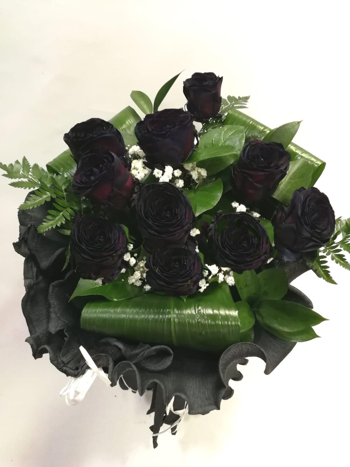 Ramo 10 Rosas Negras