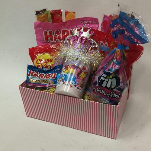 caja cumpleaños niña