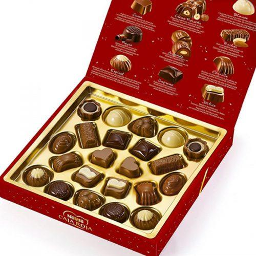 bombones caja roja
