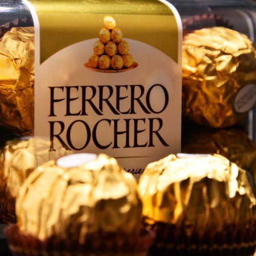 caja bombones Ferrero-Rocher