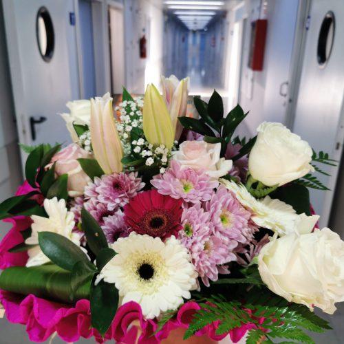 entregar flores